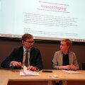 Eesti Ametiühingute Keskliit ja Eesti 200 sõlmisid koostööleppe