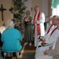 Samaaria koja mõtte algataja ja eestvedaja Lea Särekanno ja Rapla  koguduse õpetaja Mihkel Kukk.