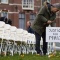 Eile Haagis toimunud meeleavaldusel pandi Vene konsulaadi ette 298 tühja tooli.