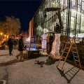 DELFI FOTOD ja VIDEO: Jõhvi kontserdimajas käib vabariigi aastapäeva vastuvõtuks valmistumine täie hooga