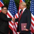 Trump tegi kannapöörde ja jättis sõjaväeõppuse Korea poolsaarel ära