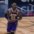 LeBron James aitas Lakersi võidule, kuid kuue parema sekka see võistkonda siiski ei aidanud.