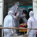 India koroonakriis süveneb: uus nakatumisrekord, haiglad on täis, hapnikku pole ja haiglatulekahjus hukkus 13 inimest