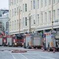 Jõululaupäeval koduta: Tallinna kesklinnas põlenud maja elanikud paigutatakse vajadusel sotsiaalmajadesse