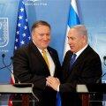 Mike Pompeo ja Benjamin Netanyahu