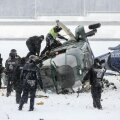 Politseiõppustel Berliinis põrkas kokku kaks kopterit, hukkus piloot