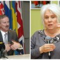 Siim Kallas ja Marina Kaljurand