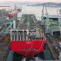 Maailma suurima ujuvplatvormi ehitas Samsung Heavy Industries.