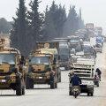 Türgi lisaväed suunduvad itta ja lõunasse, põgenikud aga lääne ja põhja suunas.