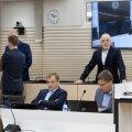 Hubert Hirv ja Pavel Gammer kohtus