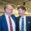 """USA vast valitud presidendi Joe Bideni tervitamise asemel nimetasid ministrid Mart (vasakul) ja Martin Helme teda """"korrumpeerunud tüübiks""""."""