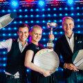 Eesti 2018. aasta parimad baarmenid: Vyacheslav Ilichev, Karina Tamm ja Laur Ihermann.