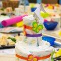 Mähkmetest valmistatud tort on praktiline katsikukink.