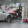 FOTOD | Mustmäel põrkasid kokku Volkswagen Golf ja Chevrolet