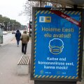 В Эстонии действуют одни из самых мягких в Европе ограничений, связанных с коронавирусом