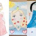 """КОНКУРС   Смотрите, какие трогательные работы присылают участники конкурса """"Милой мамочки портрет"""". Еще можно успеть побороться за приз от Delfi и BLUMMiN!"""