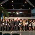 Päästeteenistuse aumärkide jagamine Tallinnas Lillepaviljonis