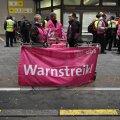 В Берлине проходит крупная забастовка работников общественного транспорта