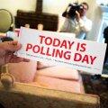 Sildil seisab, et täna on referendumipäev.