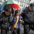 Vene senaatorid hakkasid põhiseadusreformi järel nägema üle linna vikerkaari, nõudes Putinilt nende piiramist