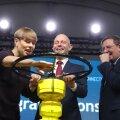 ФОТО   Президенты Кальюлайд и Нийнистё торжественно открыли эстонско-финский газопровод Balticconnector
