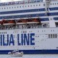 Круизный лайнер компании Tallink не смог пришвартоваться на Готланде