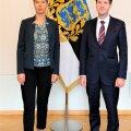 President Kersti Kaljulaid ja EKRE esimees Martin Helme