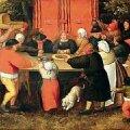 """Kombed kindlaks määratud: Pieter Breughel noorem """"Andide toomine"""" (umbes 1630). Eesti Kunstimuuseum"""