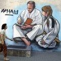 Grafiti judolembelisest Putinist Jaltas