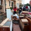 REUTERSI VIDEO: Sardiinias alustati pärast 18 inimelu nõudnud tormi koristustöid