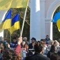 Ukrainameelne meeleavaldus Krimmis