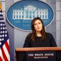 Trumpi truu meediasõdur, Valge Maja pressisekretär Sarah Sanders lahkub ametist