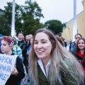 Lukašenka-vastane meeleavaldus Vabaduse väljakul