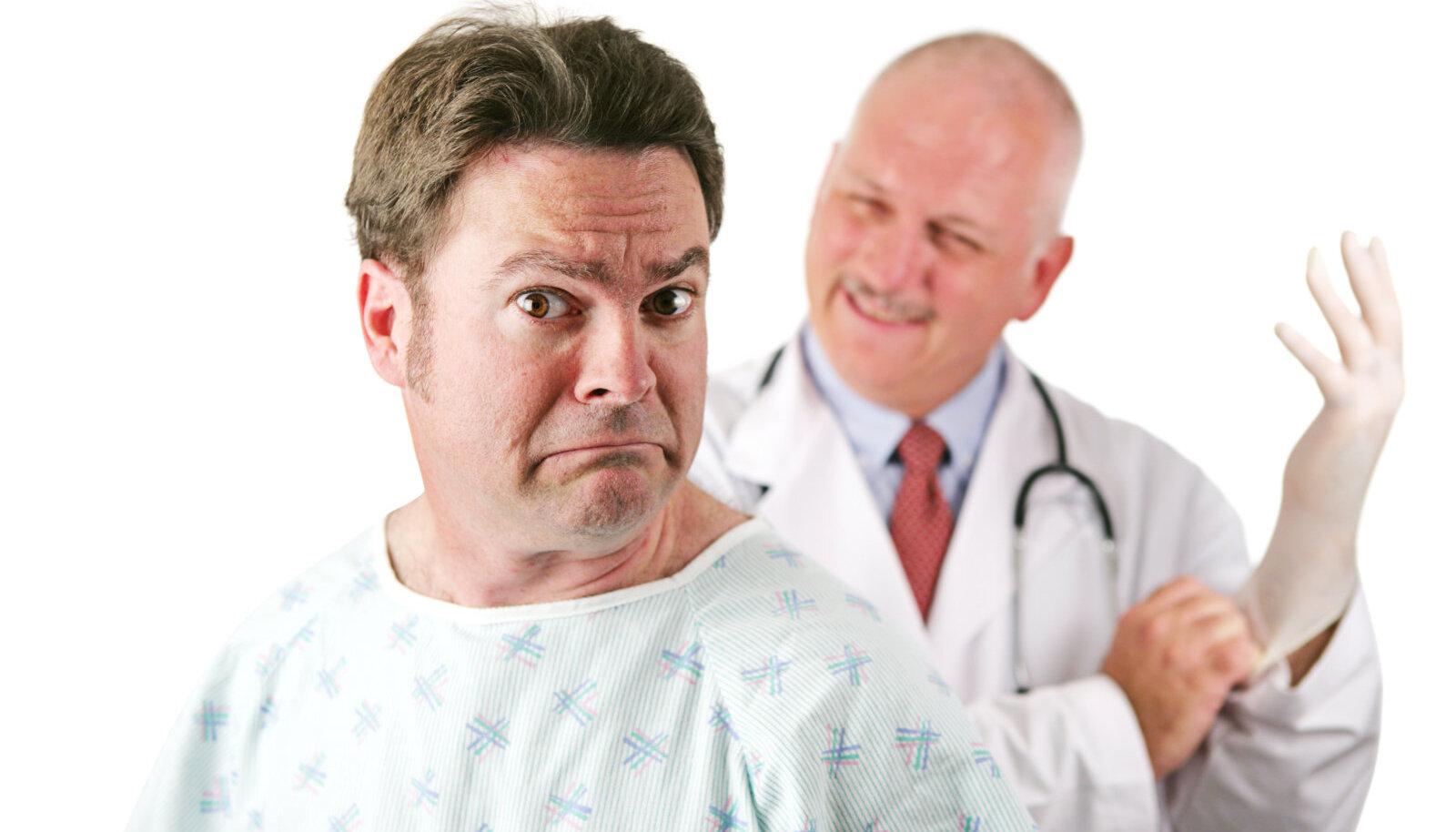 Mees arsti juures
