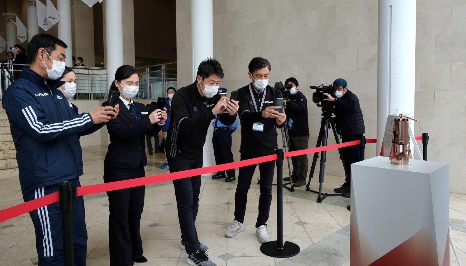 Kuni eelmise nädalani sai veel olümpiatuld Fukushimas lindi tagant pildistada.