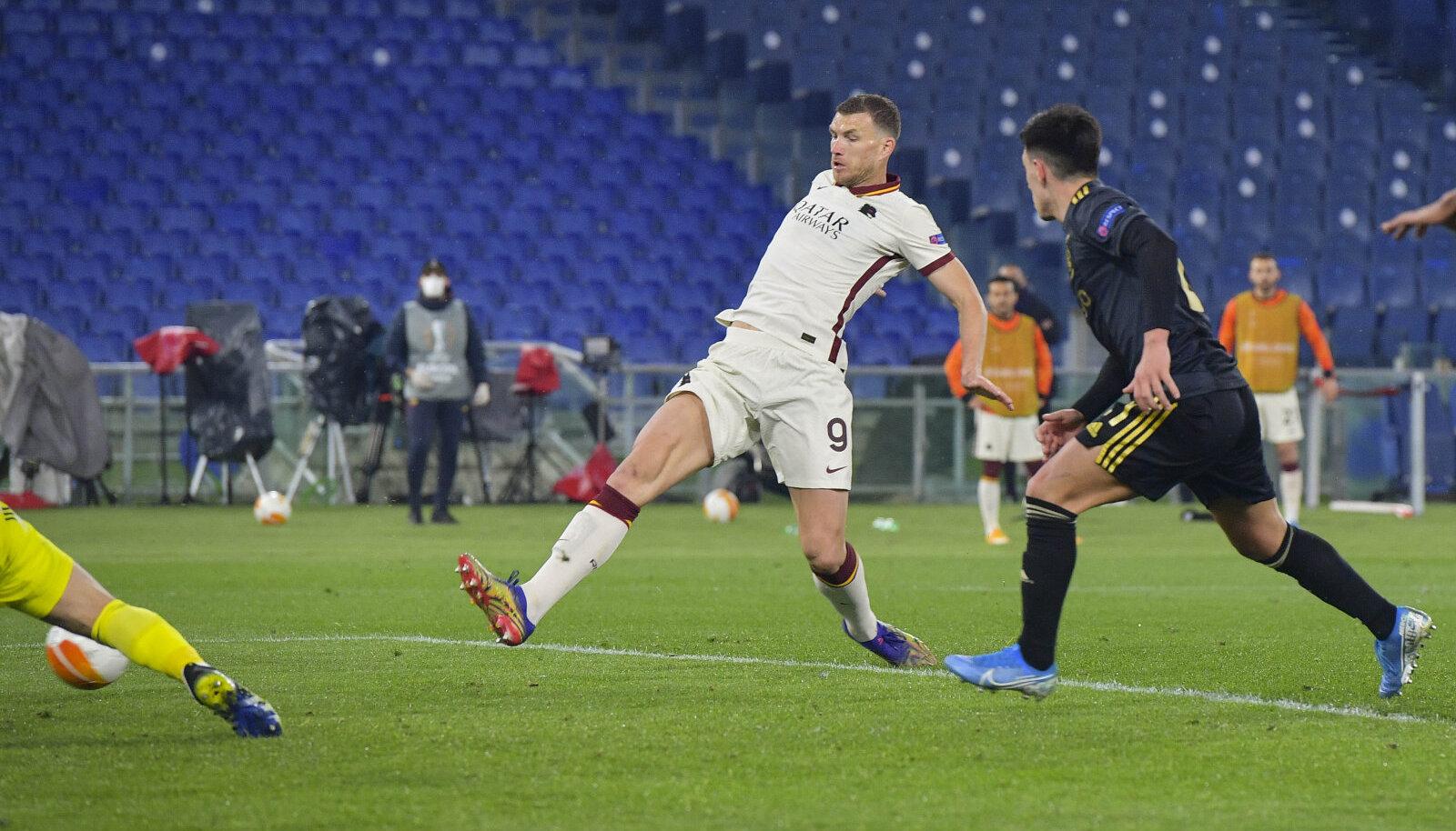 Лига Европы УЕФА 2020/21, Рома - Аякс