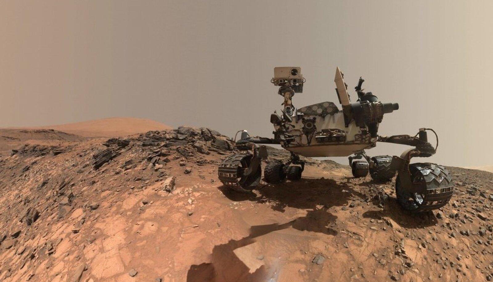 Curiosity-kulguri aastatagune endeldus Marsilt