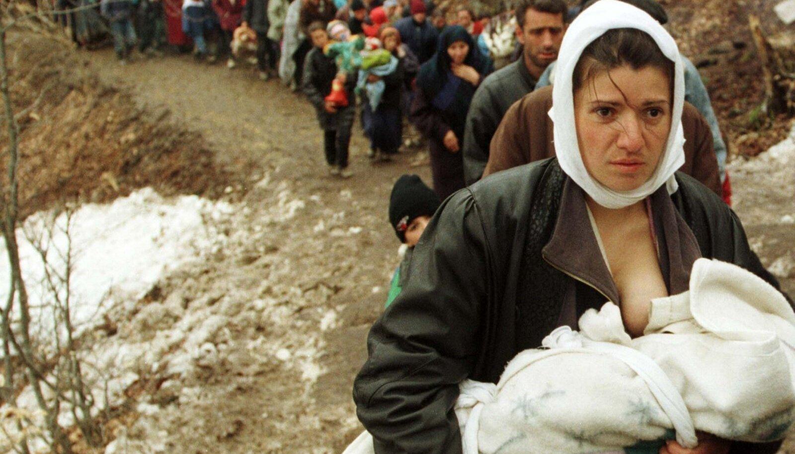 Sõjapõgenikku liikuma panev jõud on soov ellu jääda.