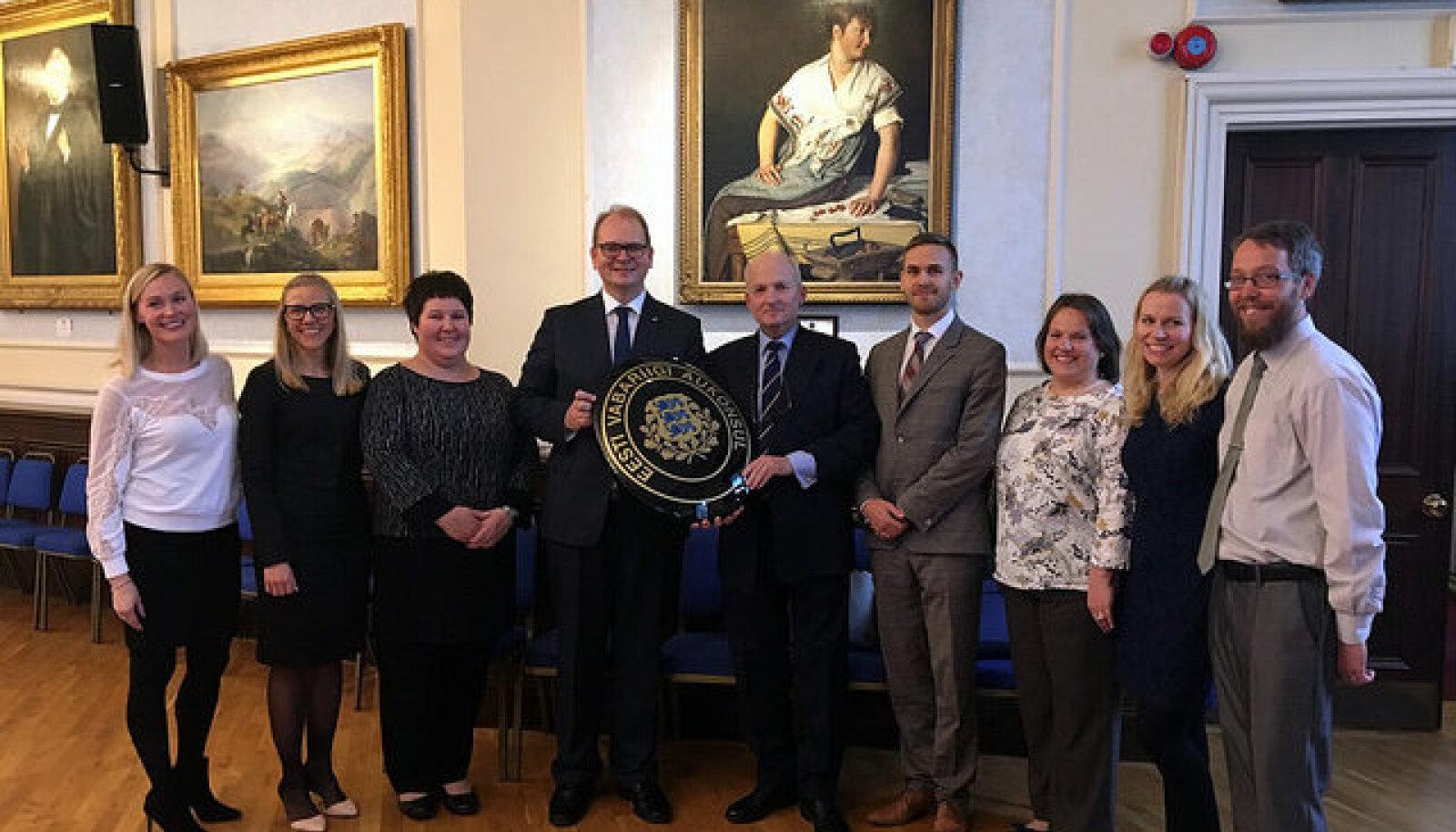 Eesti avas aukonsuli esinduse Jersey saarel