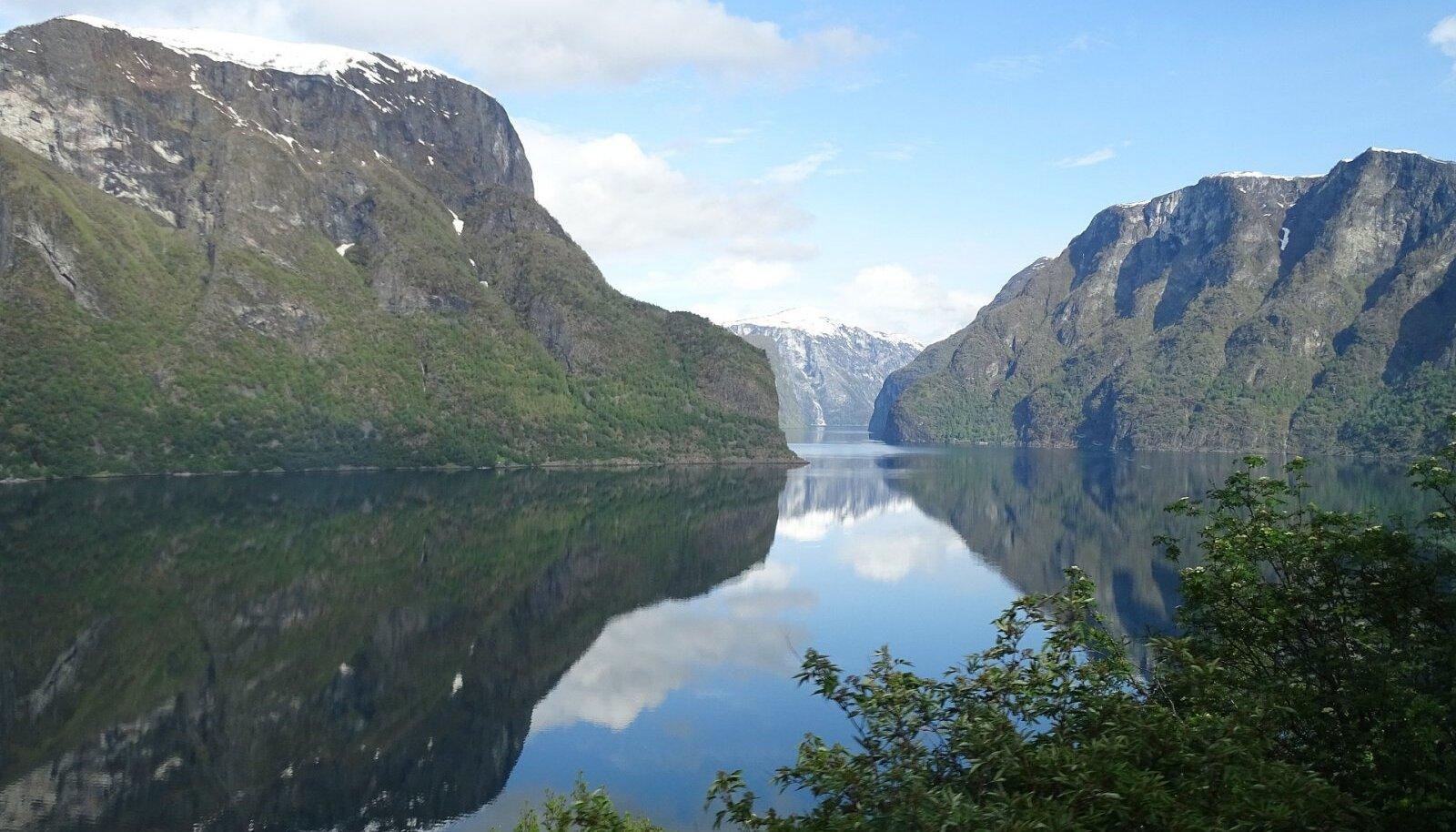 Sognefjord, Norra