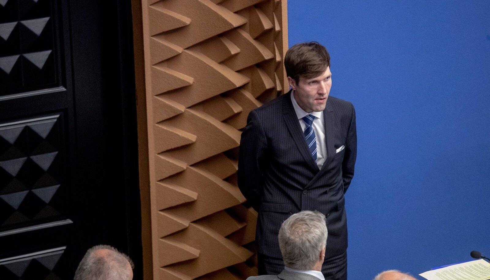 Eelarvearutelu Riigikogus, Martin Helme