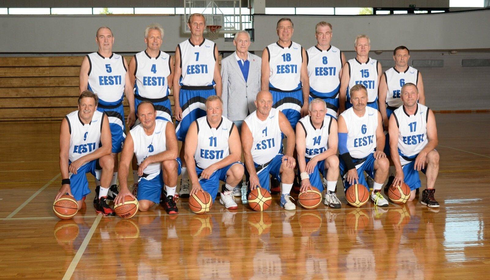 Kalev/Eesti 60+ võistkond