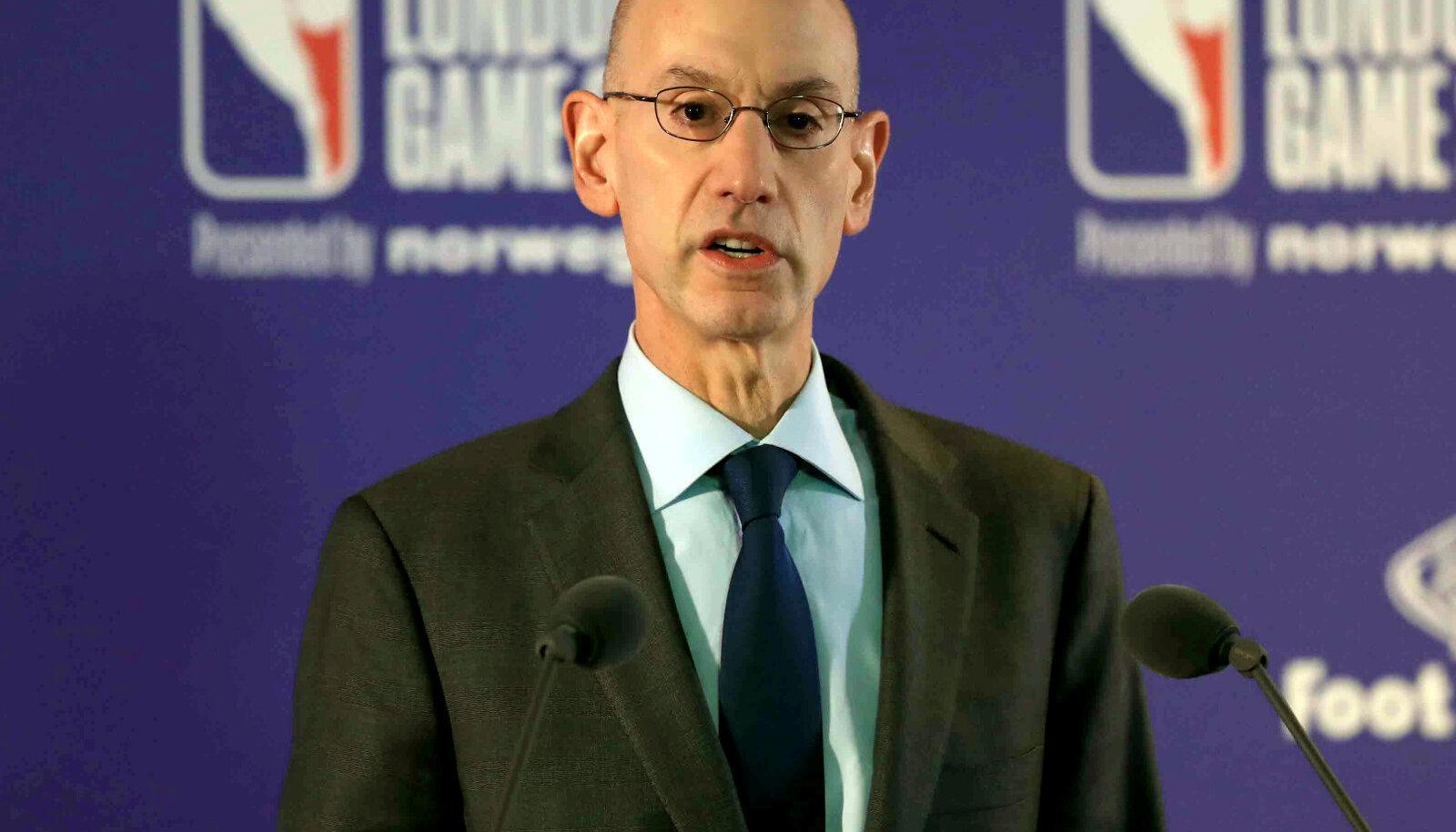 NBA volinik Adam Silver