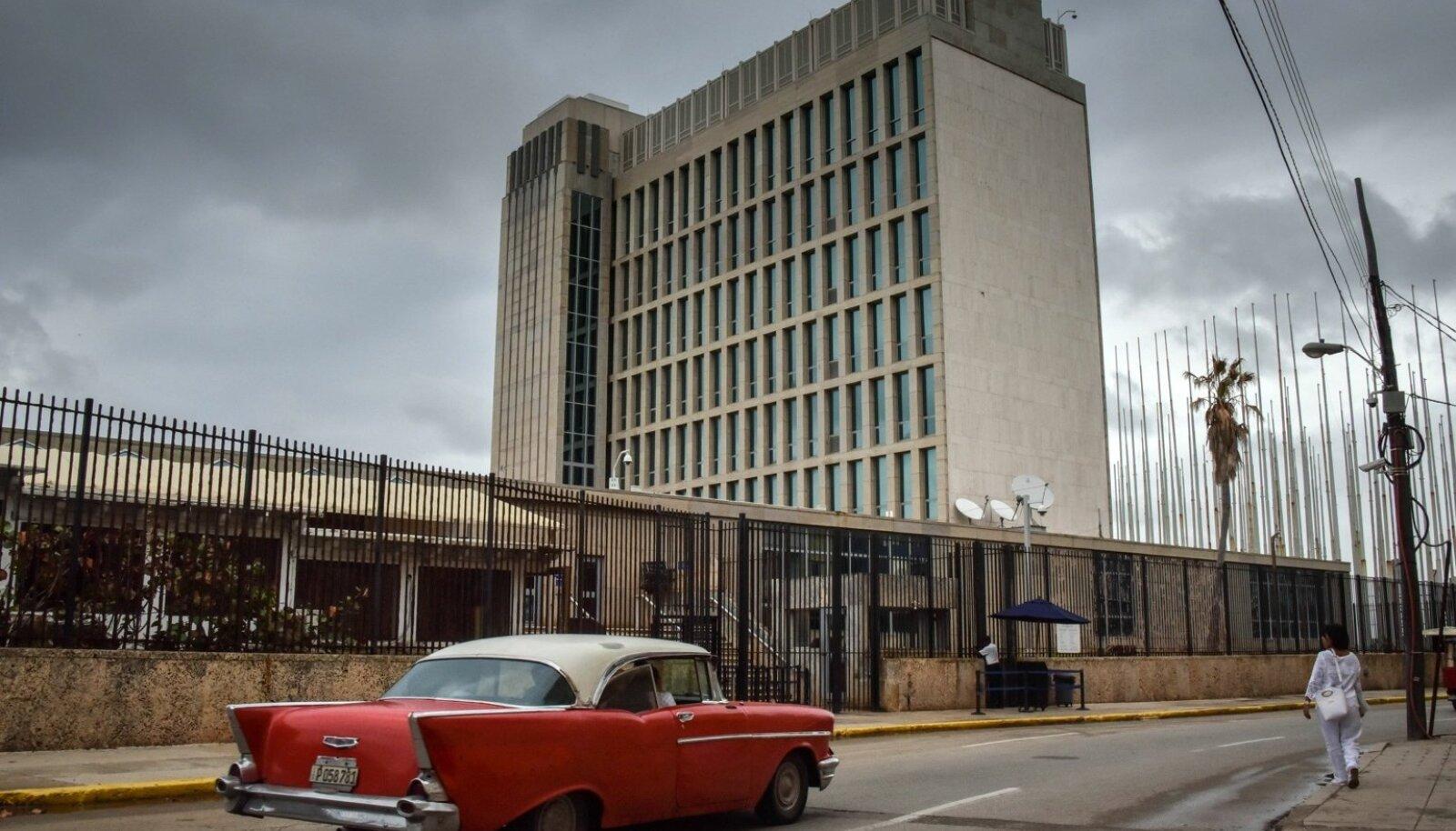 USA saatkond Kuubas