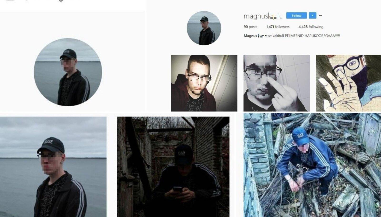 Paldiski tapja Instagrami konto