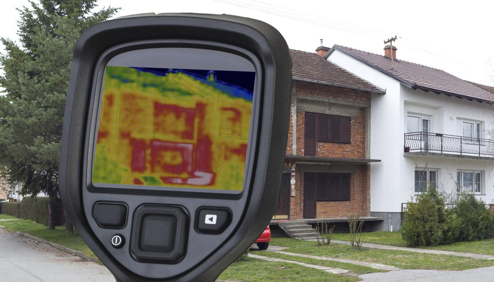 Kvaliteedi kontrollimisel on abiks näiteks soojuspiltide tegemine, mille abil saab kontrollida maja tuule ja soojapidavust.