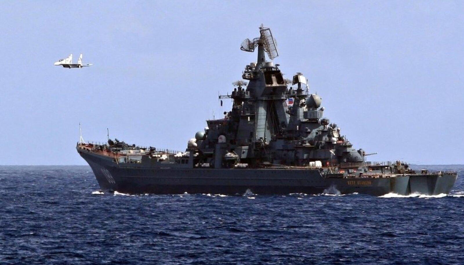 Vene raketiristleja Pjotr Velikii