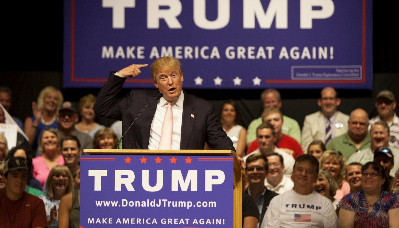"""""""Tõde Trumpist"""" annab vastuse kõigile neile, kes küsivad: """"Kes ikkagi on Donald Trump?"""""""