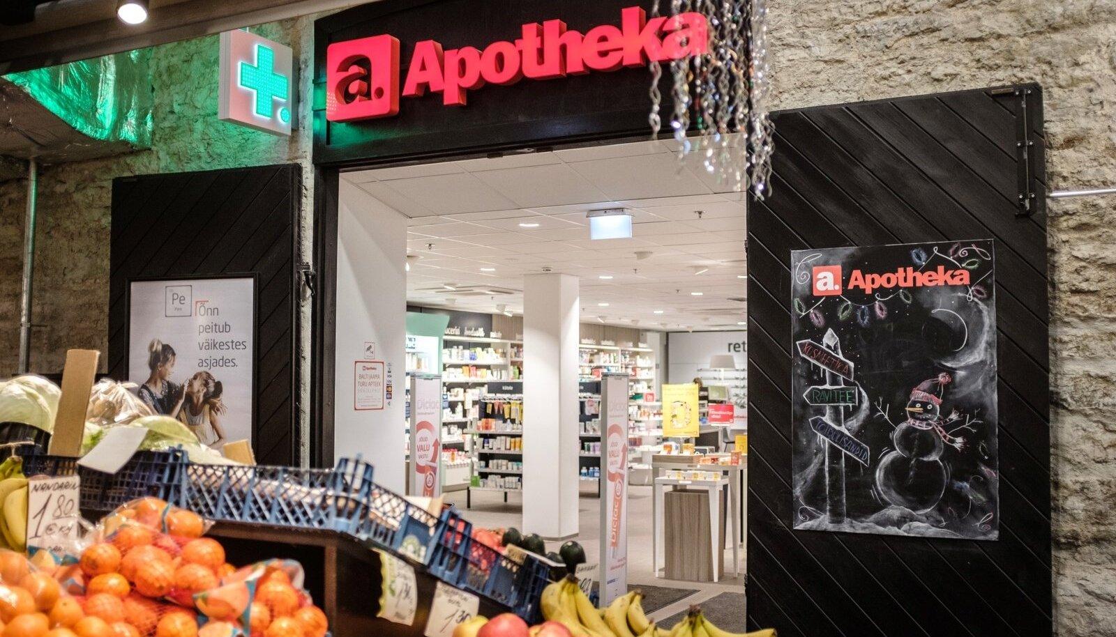 Apotheka apteek Balti jaama turul