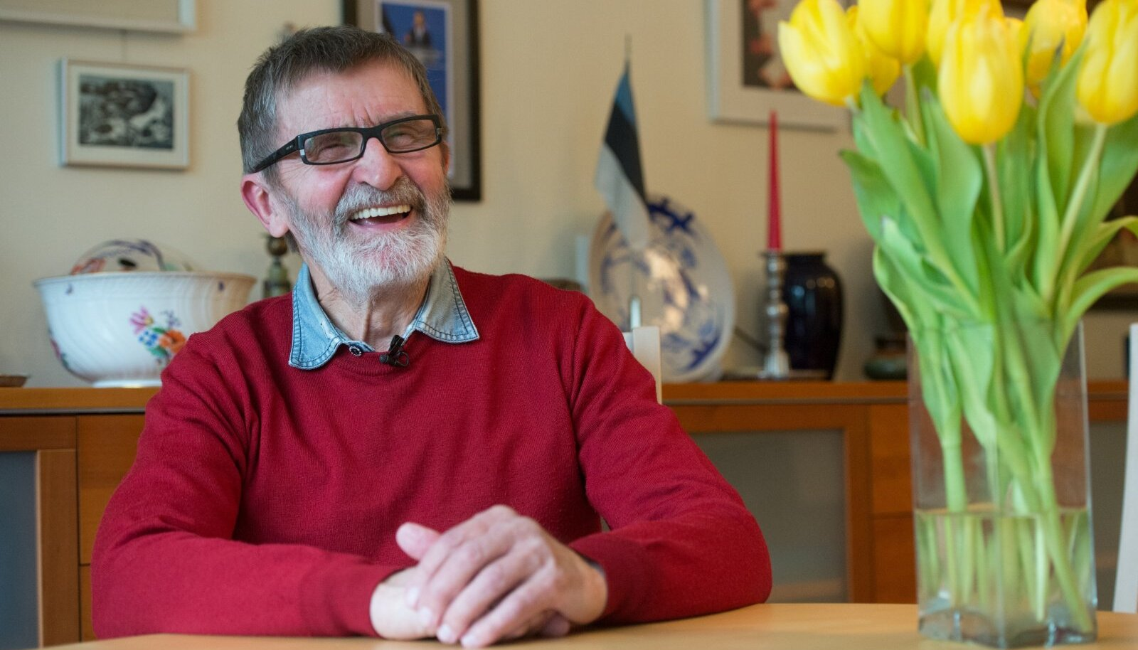 Heinz Valk on 1960. aastate kultuuripõlvkonna markantsemaid esindajaid. See pilt on tehtud viis aastat tagasi, vahetult enne 80. sünnipäeva.